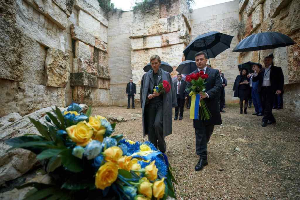Ми пам'ятаємо. Зеленський з дружиною відвідали меморіальний комплекс у Єрусалимі