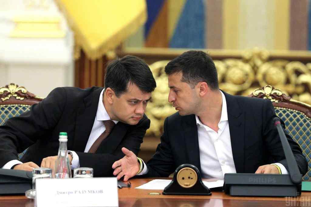 """Не подобається – йди геть"": Зеленський жорстко пригрозив Разумкову. Терпець урвався"
