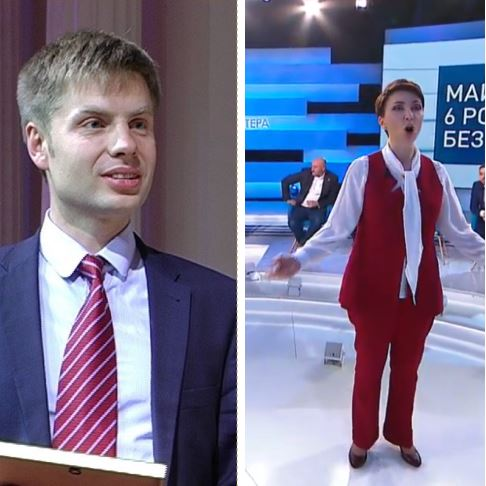 """""""Вам лікуватися треба!"""": Гончаренко різко осадив Лукаш у прямому ефірі. """"Ікони не допоможуть"""""""
