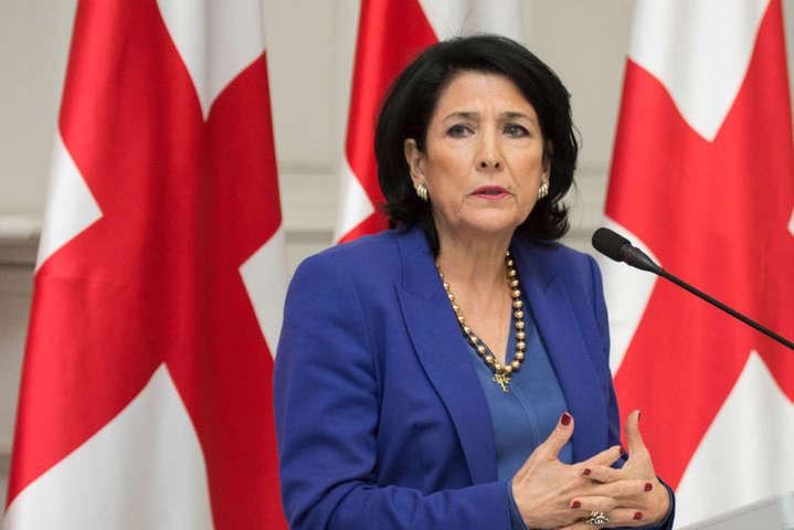 Скандал з Саакашвілі набирає обертів. Президент Грузії не стала мовчати – термінова заява
