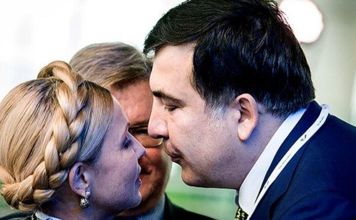 """""""Давай зробимо їх разом!"""": Тимошенко шокувала своїм зверненням до Саакашвілі. У прямому ефірі. """"Переламати через коліно"""""""