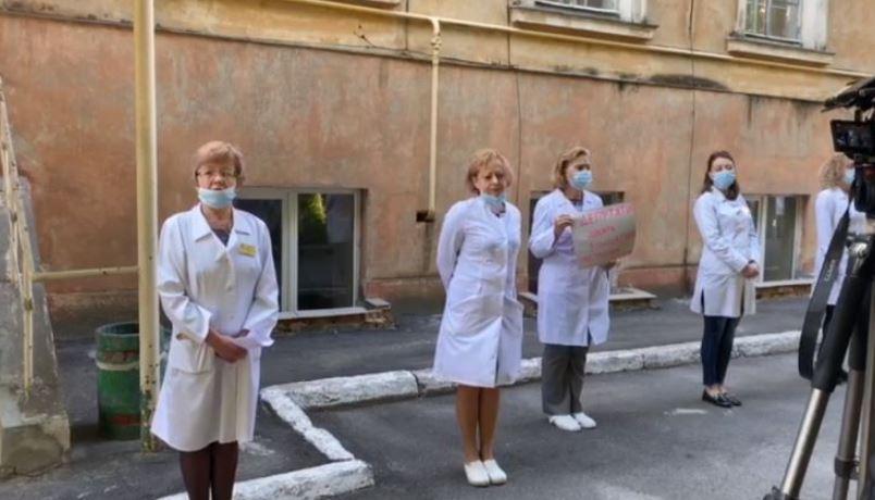 """""""Коридор ганьби для чиновників"""": У Львові медики зважились на відчайдушний крок. Залишились без роботи!"""