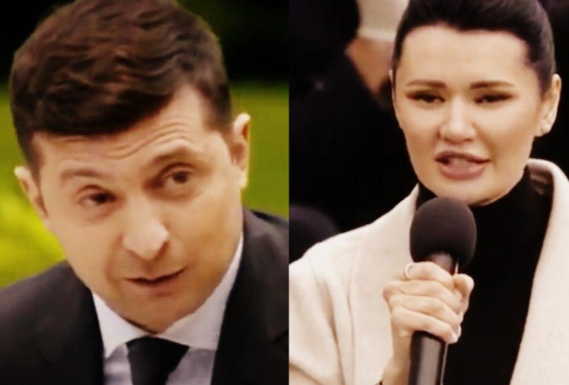 """""""Слухати вас важко!"""": Зеленський """"поскандалив"""" зі зухвалою журналісткою. """"Тримає удар"""". При Порошенку такого не було!"""