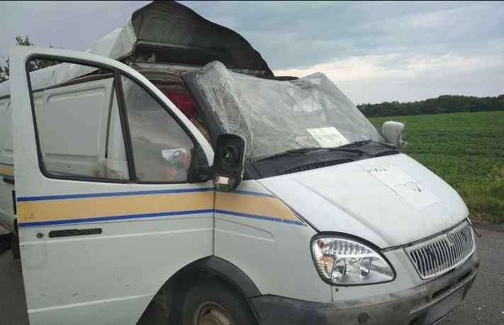"""Підірвали і викрали майже 3 млн грн. Невідомі вчинили зухвалий напад на авто """"Укрпошти"""": є потерпілі"""