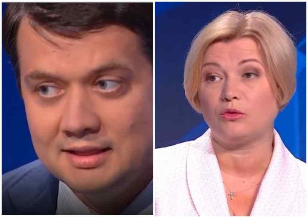"""Не перебивайте мене! Разумков просто в студії """"закрив"""" Геращенко. Перейшов на крик – догралась!"""