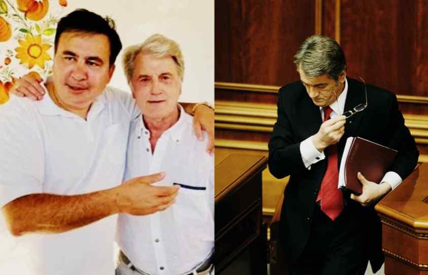 Ющенко прийшов до нього – вже зустрічався із ЗЕ. Саакашвілі вразив всіх – це його вибір