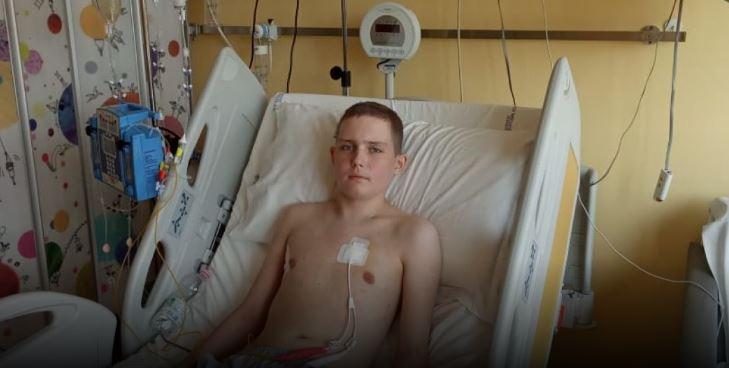 Життя Нікіти під загрозою. Агресивна лімфома вразила його тіло. Допоможіть йому!