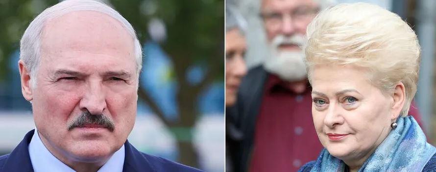 """""""Диктатор із закривавленими руками!"""": Грібаускайте просто """"розмазала"""" його своїми словами. """"Лукашенко, піди зараз!"""""""