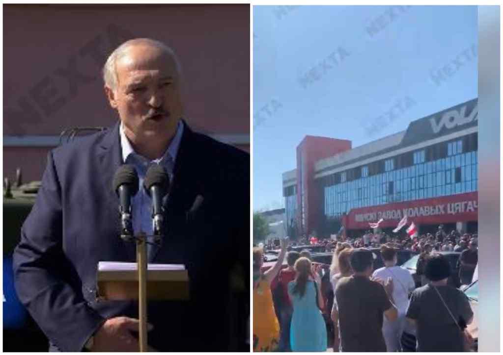 Скандальний виступ Лукашенка на заводі: Під крики ганьба! Люди не підтримують. Розвернувся і пішов