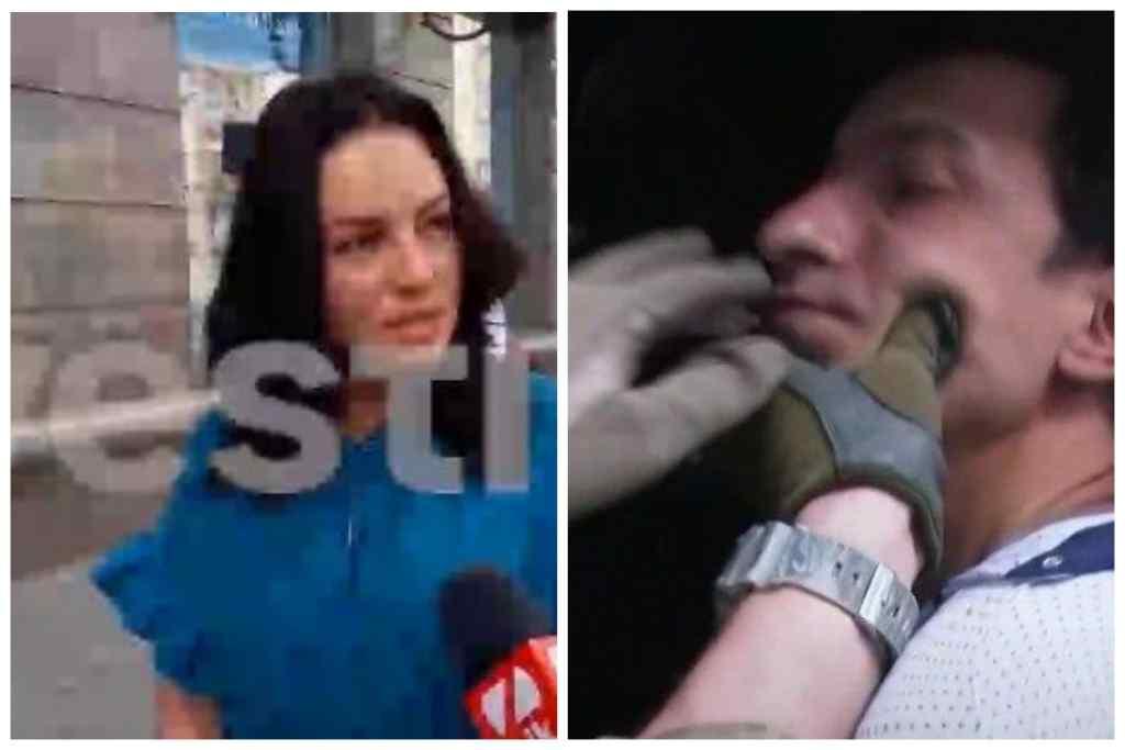 """""""Він не вимагав грошей, тільки поліцію і…"""": Заручниця у київському банку дала перший коментар після звільнення"""