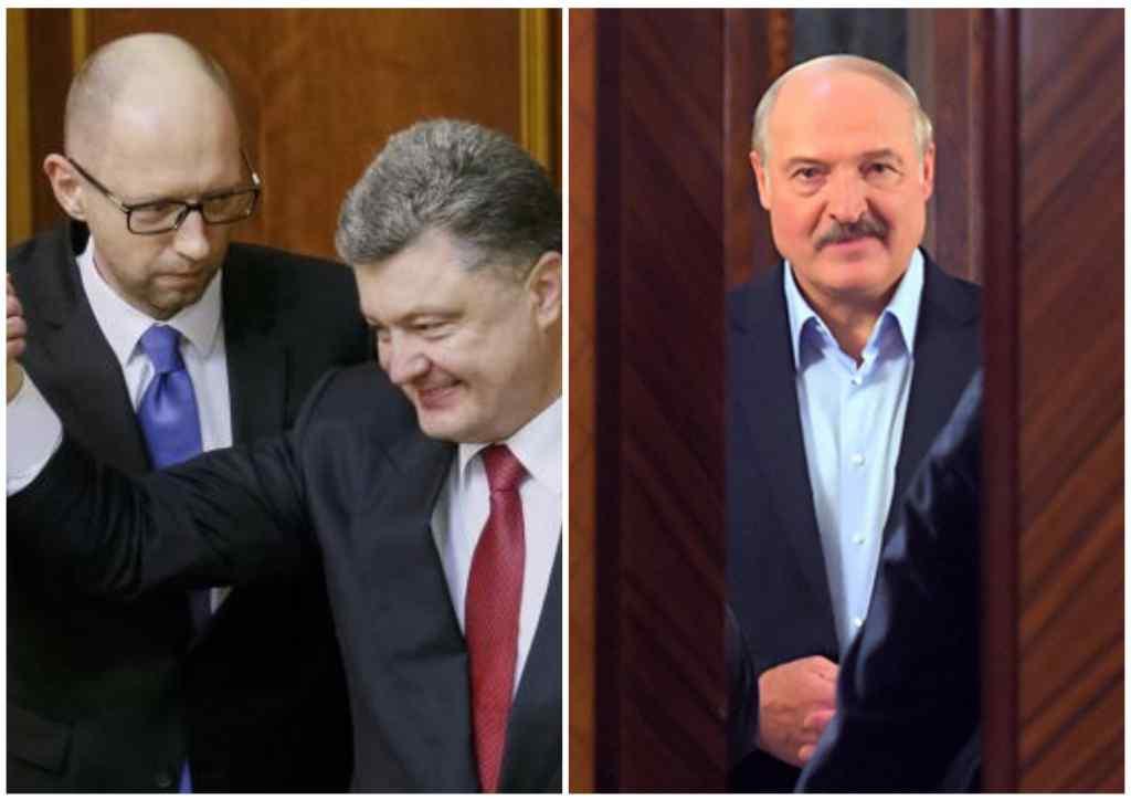 """""""Не здумайте слухати таких як він!"""": Порошенко і Яценюк оскандалилися своїми заявами про Білорусь. """"Розсьорбувати будете дуже довго"""""""