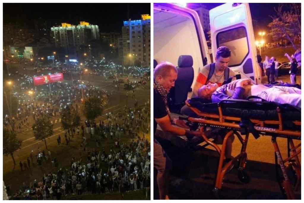 """Поки ми спали – Перша """"жертва"""" Майдану у Білорусі! Неспокійна ніч і багато затриманих і поранених"""