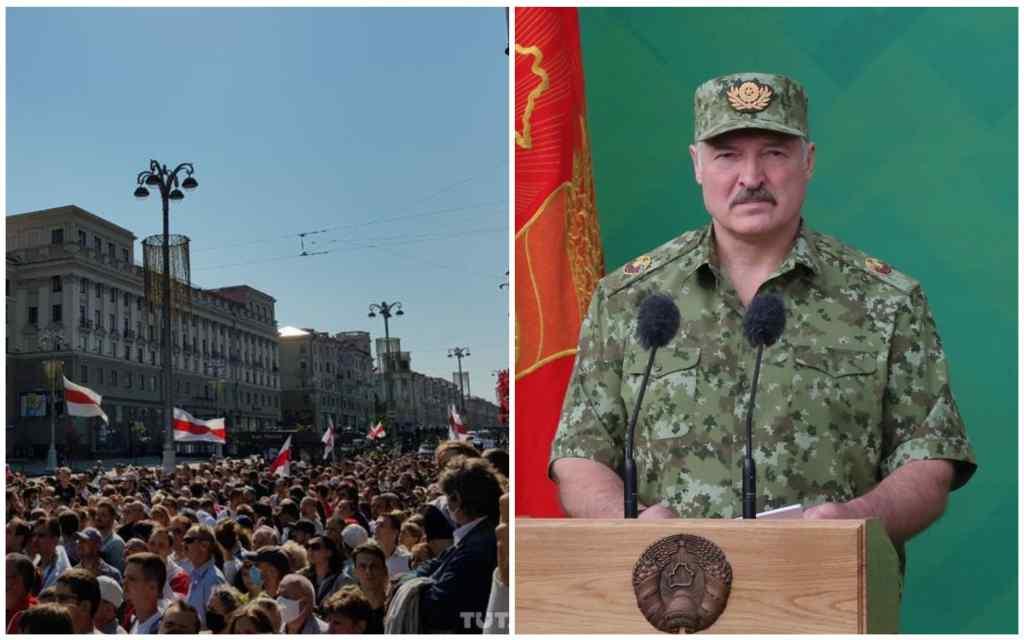 """Народна """"коронація""""! Бронетехніка в центрі Мінська – """"Лукашенко має піти"""". Йому треба нагадати!"""