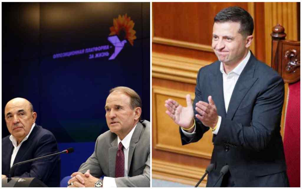 Скандал! Просто у Раді: Медведчук і Ко підтримали Зеленського. Такого не чекав ніхто