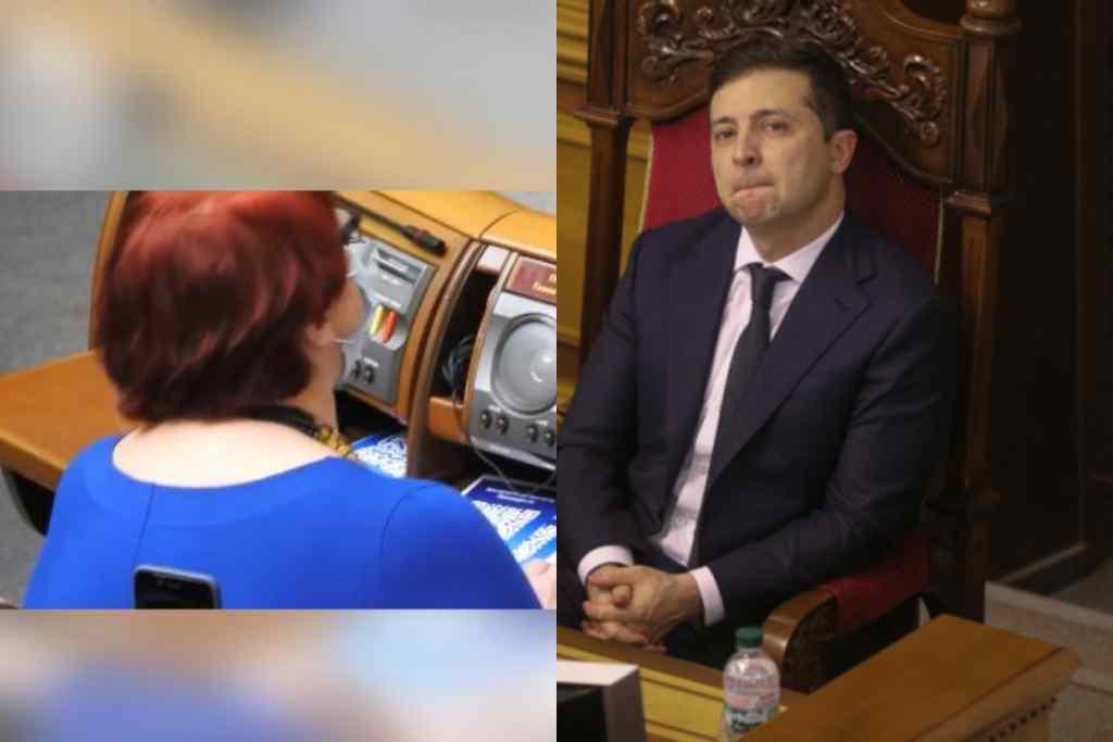Депутатка шокувала – просто під час промови Зеленського. Це побачила вся країна – вислужитися перед президентом