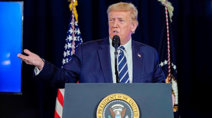 """""""Ми переможемо"""". Трамп вразив заявою – """"лише в очах ЗМІ"""". Різке звинувачення: сфальсифіковано"""