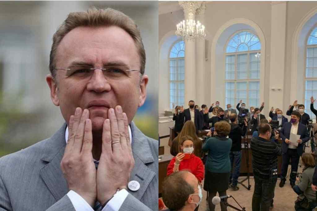 Щойно! Депутати шокували – голосували руками. Відсторонили мера – Садовий в шоці! Вперше в історії