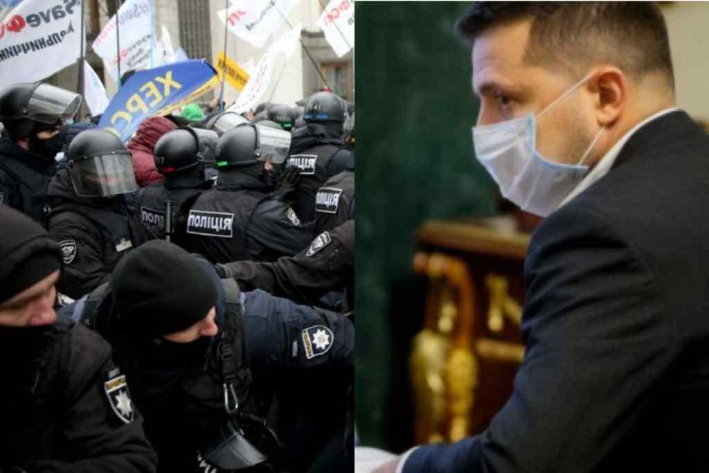 Щойно! Зеленський втрутився – після скандалу під стінами Ради. Термінова нарада. Президент покладе край!