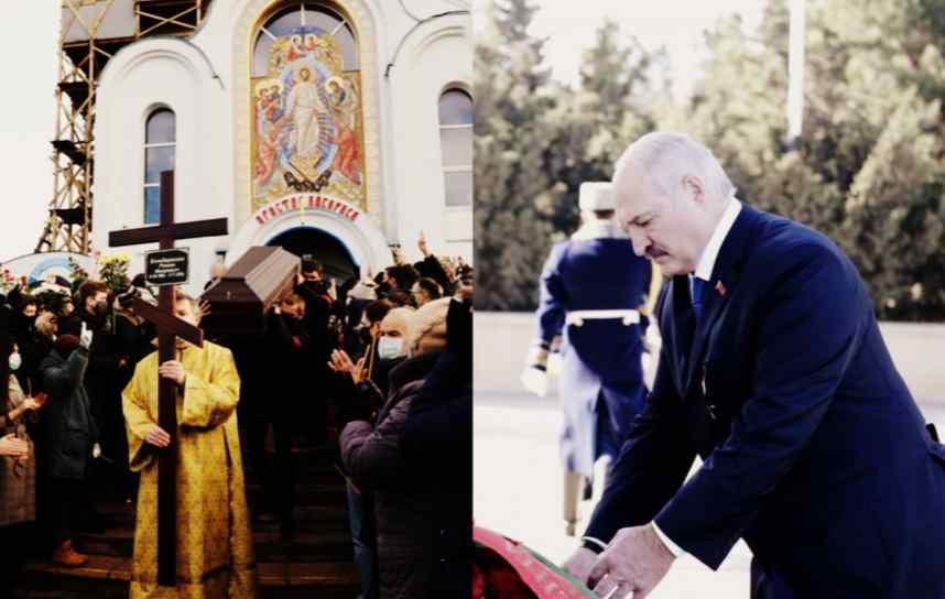 Труну винесли! Лукашенко почорнів – люди зробили це. Виходжу – заткнули його. Такого Білорусь ще не бачила!