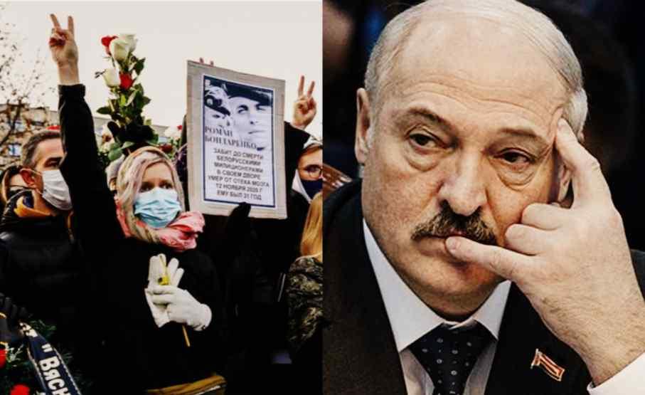 Мамі стало погано! Лукашенко змінився на обличчі – почорнів. Труна придавить – в ці секунди. Дикий крик