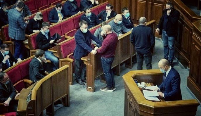 """Це ганьба! Депутати """"поглумилися"""" над Шмигалем. Просто у Раді – неповага. Країна в шоці!"""