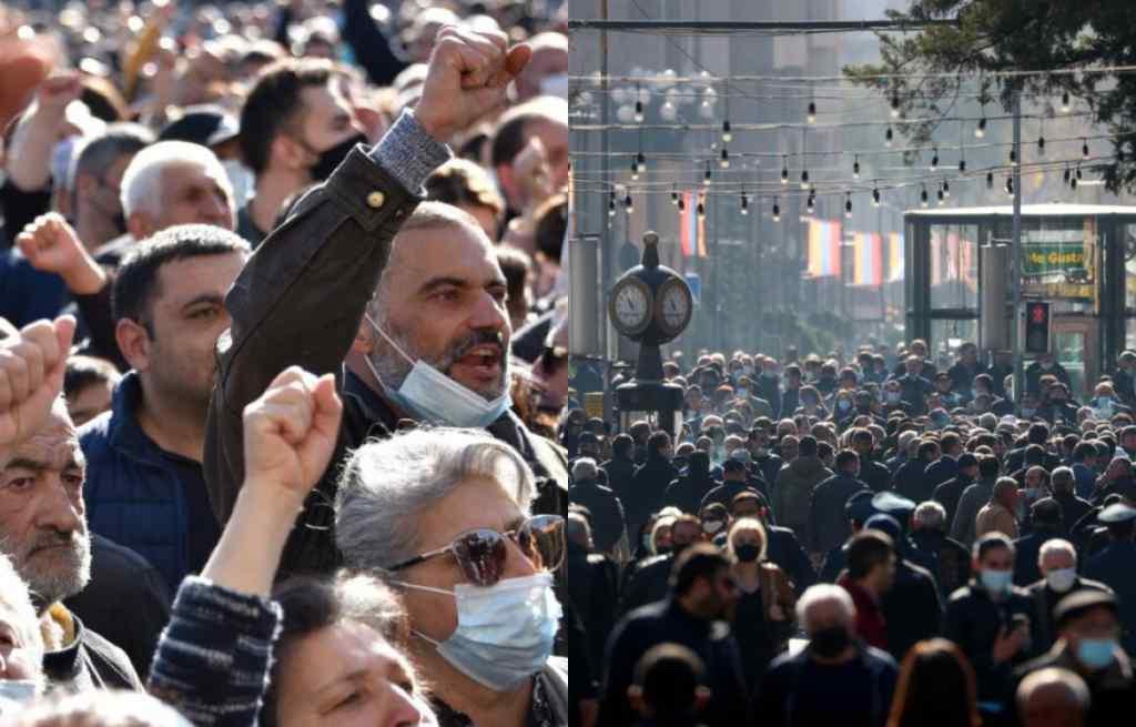 Зрадник! Просто у центрі столиці – жорсткий ультиматум уряду: у відставку! Люди вийшли – ситуація складна. Вірменію трясе