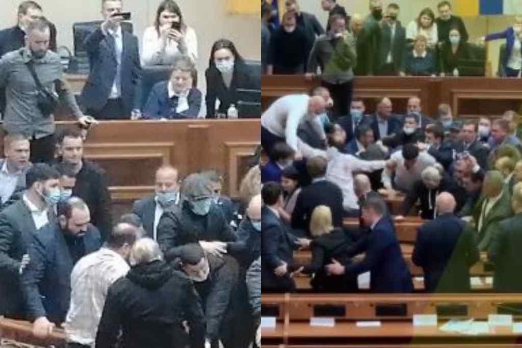 Пізно вночі! Депутати шокували – масова бійка. Потрощені меблі і лайка – у залі відбувалося немислиме. Ніхто не чекав!