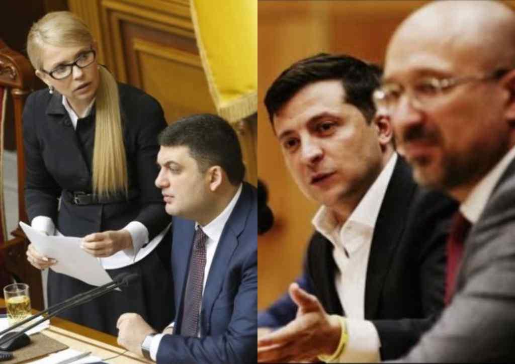 Замінити! Шмигаль зблід – очевидний провал. Боротьба за крісло прем'єра. Гройсман і Тимошенко в дії!