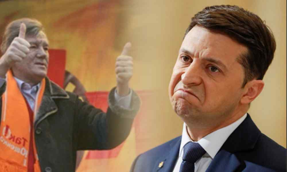 Щойно! Зеленський зблід – Ющенко підтримав. На всю країну, це сталось вперше. Вже зараз почати!