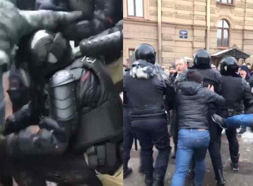 Росія на ногах! Люди повстали – масові протести. Поліція безжалісна – побиття і затримання. На вулицях хаос!