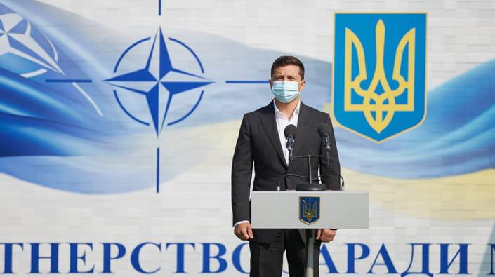 Вже скоро! Членство в НАТО: міжнародна підтримка! Незважаючи на окупацію – позбутись агресії назавжди!