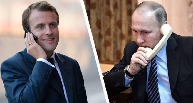 Поки ми спали! Макрон видав, перейшов  червоні лінії- санкції.  Путін не чекав!