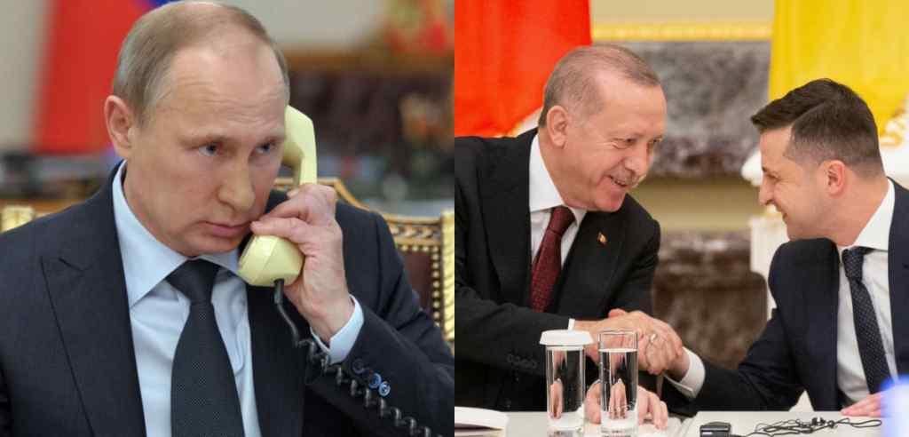 Просто перед візитом! Путін зважився на немислиме – під час розмови з Ердоганом. Зеленський не чекав!