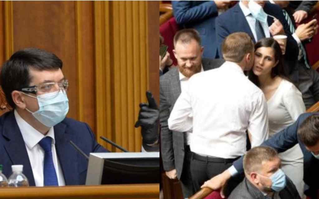 Прямо в Раді! Разумков не стримався: ігнорування всіх правил! Депутати затихли – будуть нести відповідальність!