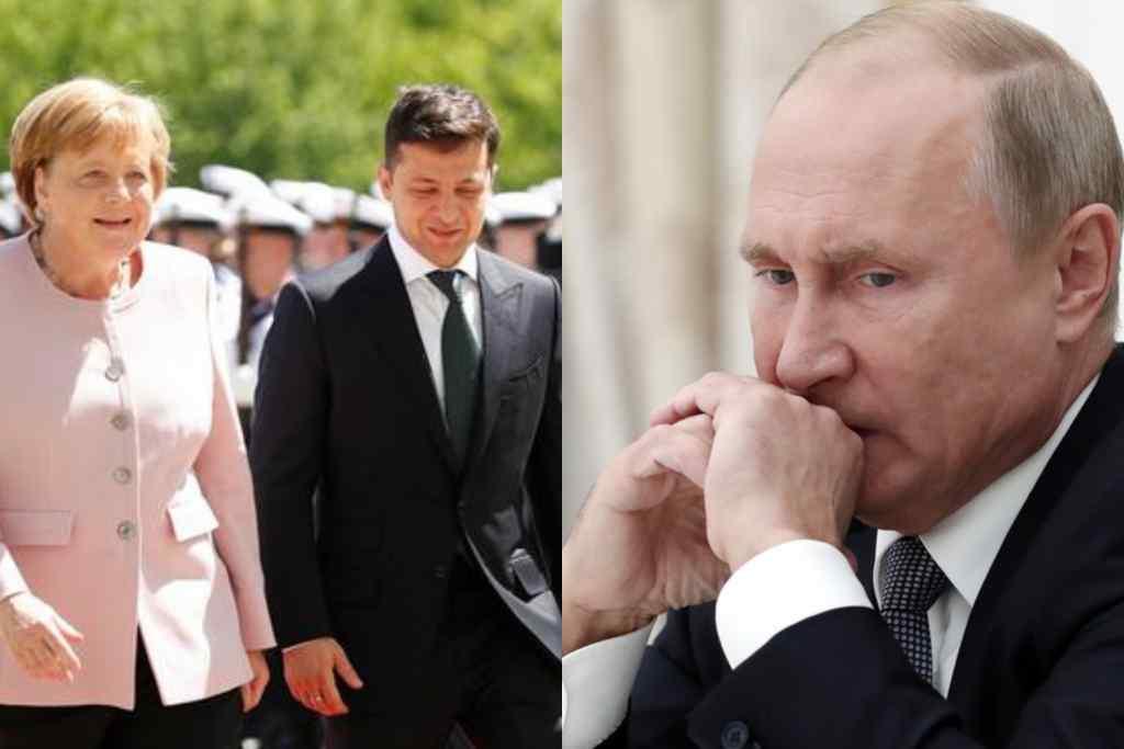 Щойно! Меркель потужно вмазала – важливий партнер. Зеленський аплодує – підтримка. У Кремлі не чекали!