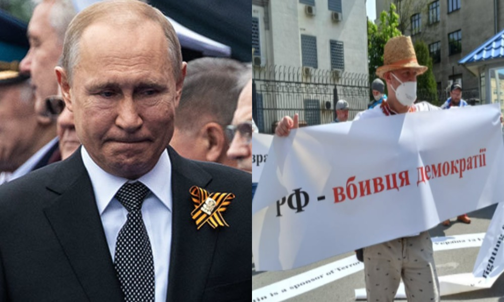 Пів години тому! Путін в істериці – люди вийшли: той самий терор, це не приховати! Кремль трясе