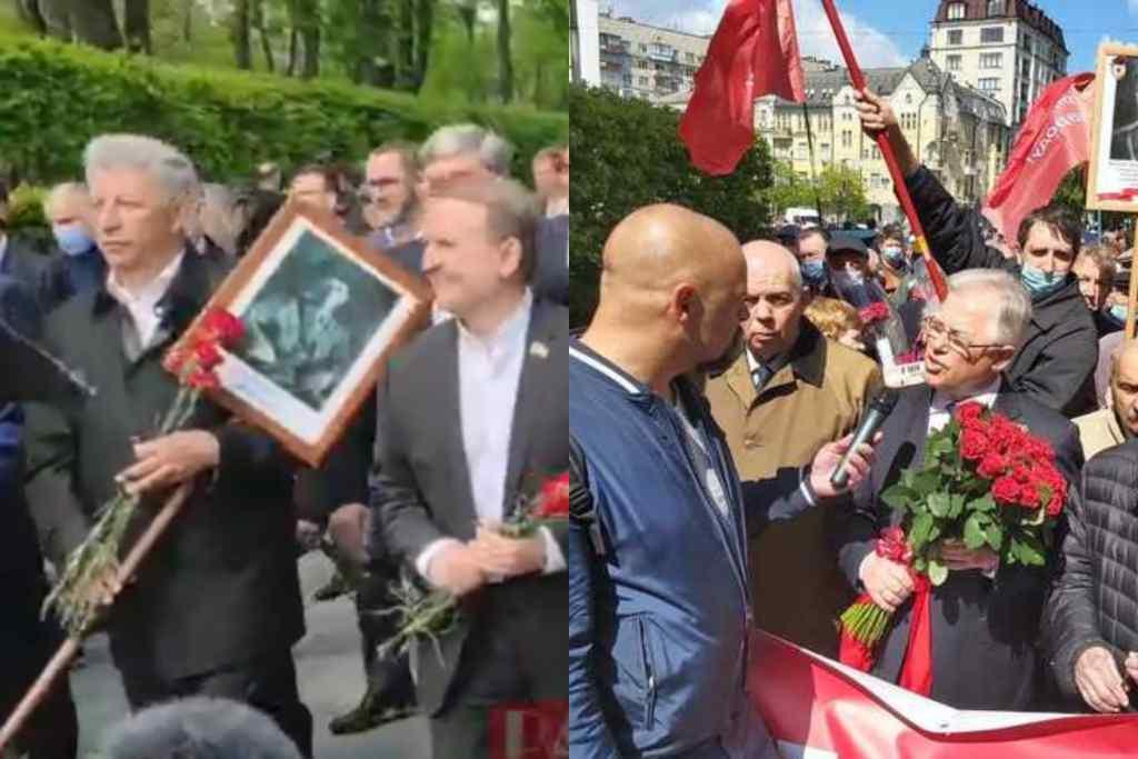 У центрі столиці! ОПЗЖ влаштували немислиме – на чолі з Медведчуком. Країну трясе – комуніст Симоненко теж там