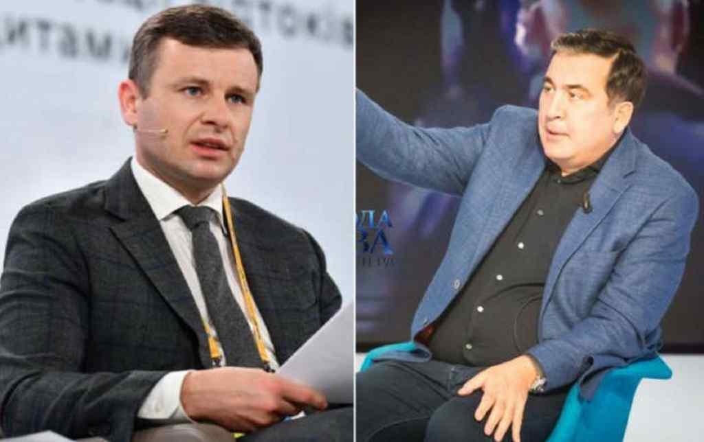 """""""Цей міністр Марченко має частку в цьому"""". Саакашвілі звинуватив главу Мінфіну в залученні до незаконних схем на митниці"""