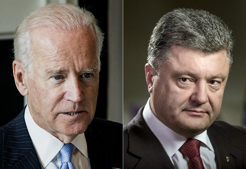 """«Робив все можливе""""-Порошенко думає, що зустріч Зеленського і Байдена організував він."""