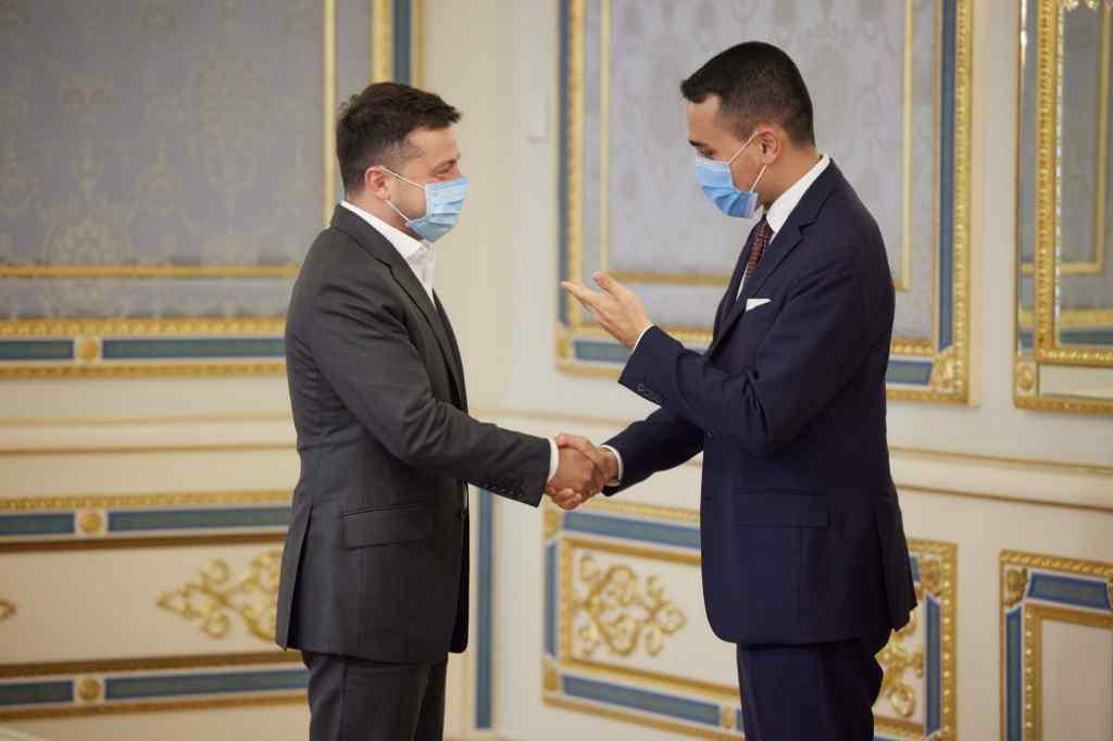 «Маємо значний потенціал»,-Володимир Зеленський зустрівся з головою МЗС Італії.