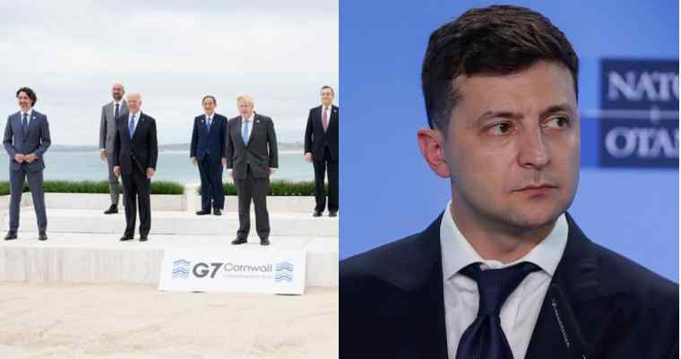"""Прямо під час саміту! Лідери G7 не залишили без уваги: """"Підтримуємо територіальну цілісність України і готові допомогти""""."""