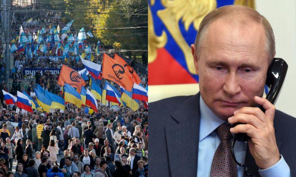 Прямо зараз! Путін присів – сталось немислиме: його знесли. Народ не стерпів – удар с спину. Почалось!