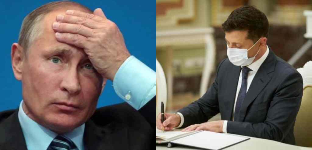 Пізно ввечері! Зеленський підписав закон : Путін в люті – під час телефонної розмови. Ще одна цинічна заява!