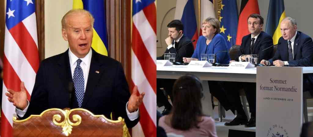 Процес у глухому куті! Переговори по Донбасу – США не долучаться. Байден з Україною – Путін в ауті!