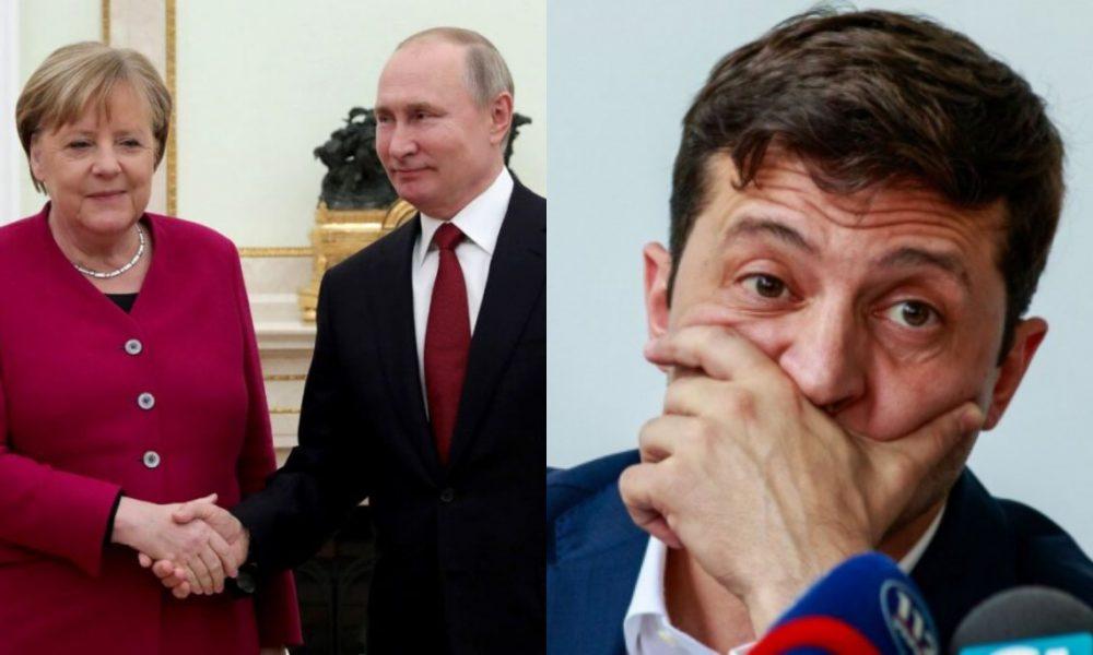 Нас продали! Сталось немислиме – Путіну вдалось: Меркель з ним. За спиною України – міжнародний скандал