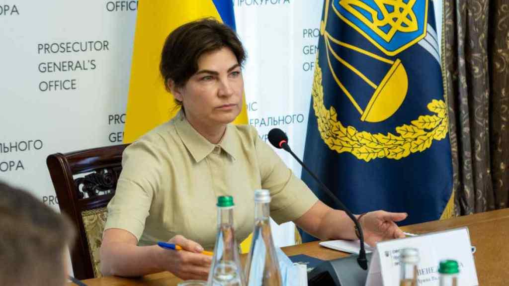"""Через лист від СБУ. Венедіктова пояснила чому забрала у Мамедова """"департамент війни"""" під своє керівництво"""