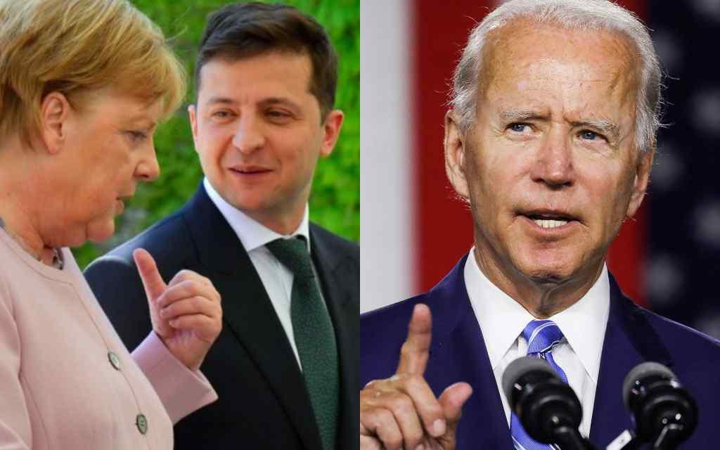 Щойно! Консультація перед зустріччю з Байденом: причини розмови Зеленського та Меркель