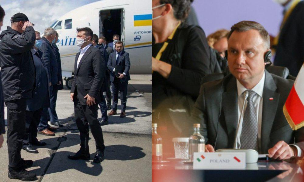 """Зеленський відбуває! Разом з Дудою, рейс до США – поки вони """"ховають голову у пісок"""". Польща допоможе – разом"""
