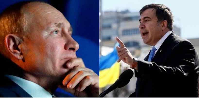 Прямо в ефірі! Саакашвілі влупив: вся правда – Путін в іcтериці, план провалився. Не допустили вторгнення!