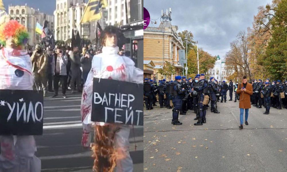 Прямо на Майдані! Підпалили – «Нацкорпус» втнув немислиме, у такий день: поліція наготові. Немає слів